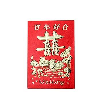 Tarjetas E Invitaciones 90 Unidades Set Chino Año Nuevo