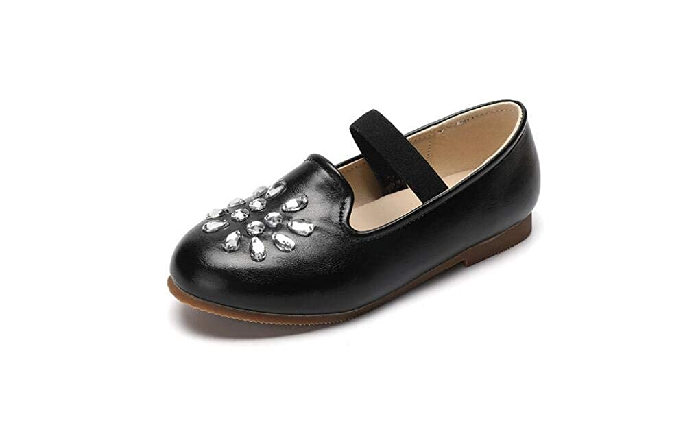 Gusha Fashion Girls Flat Shoes Casual Shoes Baby Toddler Shoes Walking Shoes Black 28//11 M US Little Kid