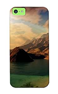 Iphone Case - Tpu Case Protective For Iphone 5c- Sunlight Reflections by icecream design