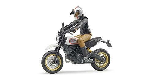 Bruder Ducati Scrambler Cafe Racer with Driver Vehicles