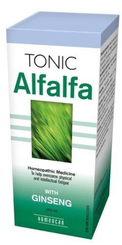 Alfalfa Tonic (with Ginseng)-2 x 250 ml Brand: Homeocan