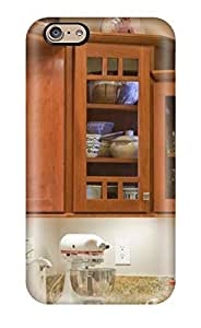 Cute Appearance Cover/tpu ArTkcEu3048mmTTo Mission Style Cabinets In Neutral Kitchen Case For Iphone 6