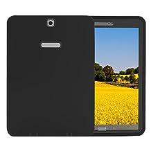 "TKOOFN Galaxy Tab S2 9.7 Case, 3in1 Anti-slip Hybrid Heavy Duty Rugged Shockproof Protective Case Cover for Samsung Galaxy Tab S2 9.7"",Black"