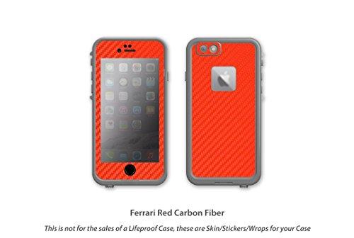 separation shoes 784e8 da60e Stickerboy Carbon Fiber Series for Lifeproof Fre Skin/Sticker/Decal ...