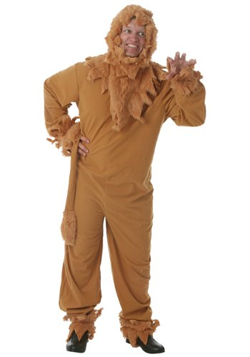 Fun Costumes unisex-adult Cowardly Lion Mens Costume