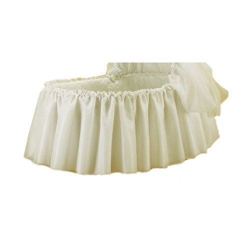 aBaby Sheer Elegance Bassinet Skirt, Small 009243423195