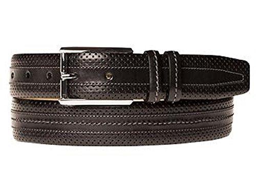 [Mezlan Men's Black Belt AO9727 (US Men's 44, Black)] (Mezlan Black Belt)