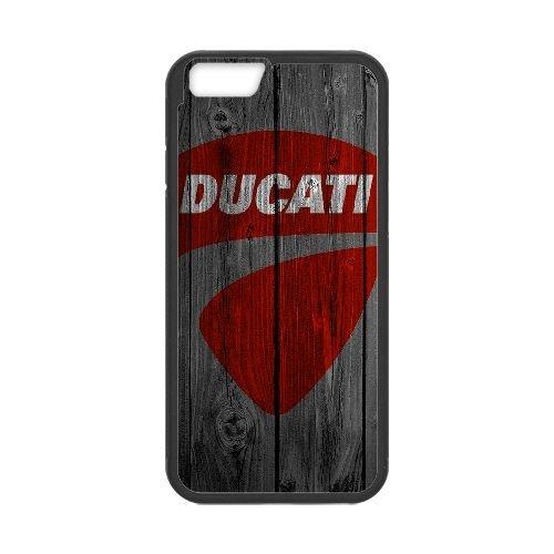 iPhone 6 4.7 Inch Phone Case Black Ducati QY7012679