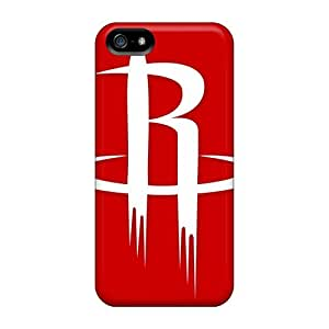 Durable Cases For The Iphone 5/5s- Eco-friendly Retail Packaging(houston Rockets)