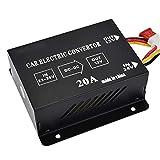 CAPTIANKN Automotive Buck Converter, 24V to 12V 20A Automotive Voltage Converter Inverter Regulator