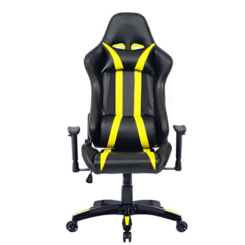 Giantex Executive Racing Style High Back Reclining Chair  : 419rlo 3D3L Office Chair Armrest <strong>Covers</strong> from www.gamingchairreviewsandratings.com size 500 x 500 jpeg 25kB