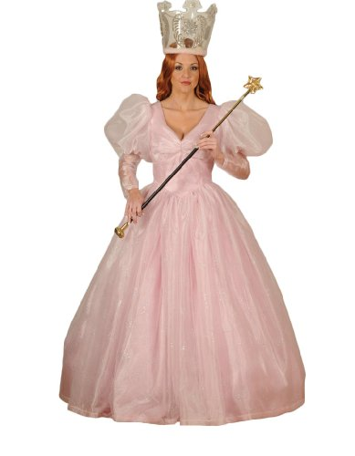 Women's Glinda the Good Witch Dress Theater Costume Small Pink