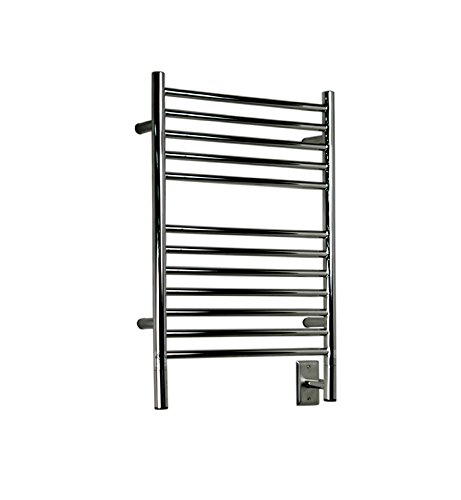 Amba Jeeves Wall Mount Electric E Straight Towel Warmer Finish: Oil Rubbed Bronze
