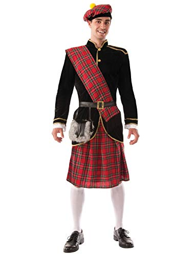 Forum Novelties Men's Scotsman Costume, Red/Black, Standard]()