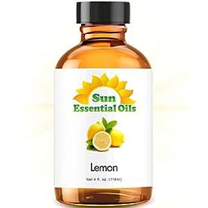 Lemon (Large 4 ounce) Best Essential Oil