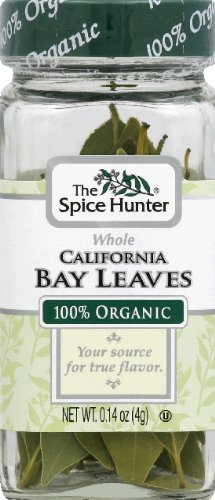 Spice Hunter Bay Leaves, California Whole 0.14 oz (Pack Of 6)