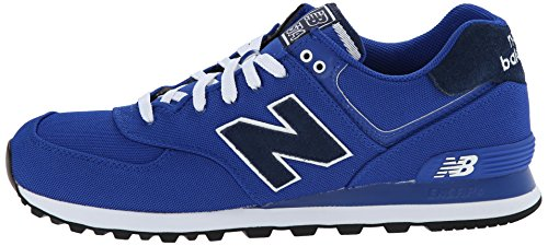 888546365568 - New Balance Men's ML574 Pique Polo Pack Classic Running Shoe, Blue, 9 D US carousel main 4