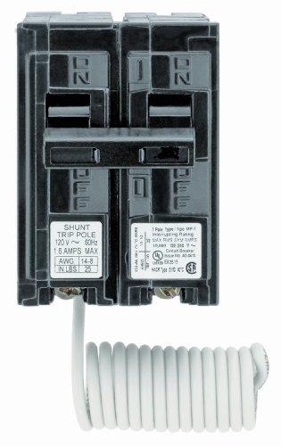 Siemens Q12000S01 120-Volt type MP-T 20-Amp Circuit Breaker with 120-Volt Shunt Trip Single pole