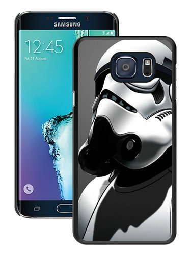 Hot Sale Samsung Galaxy S6 Edge Plus Case ,Unique And Durable Designed Case With Star Wars Stormtrooper black Samsung Galaxy S6 Edge+ Cover Phone Case]()