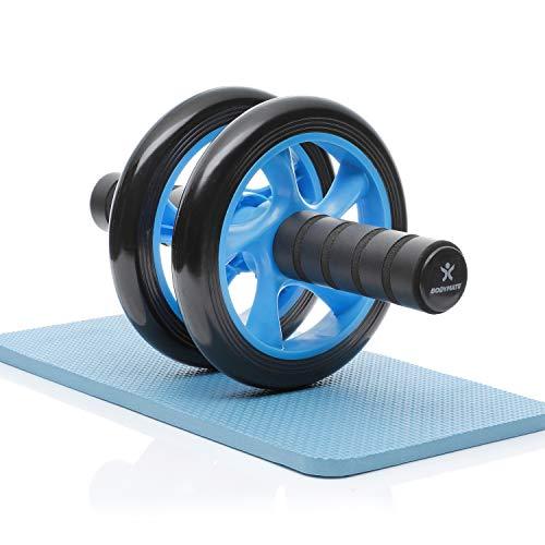 BODYMATE AB Roller Classic, buiktrainer voor een sterkere core, fitnessapparaat voor thuis, buikspiertrainer incl…