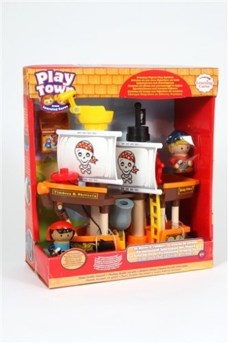 bienvenido a comprar Play Town Pirate Pirate Pirate Ship and Pirates Set by Learning Curve  varios tamaños