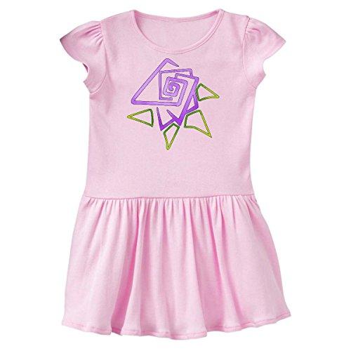 inktastic - Easter and Spring Geometric Toddler Dress 5/6 Ballerina Pink 2912b
