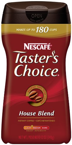 NESCAFE Taster's Choice House Blend 12oz. Case of 9 by Nescafé