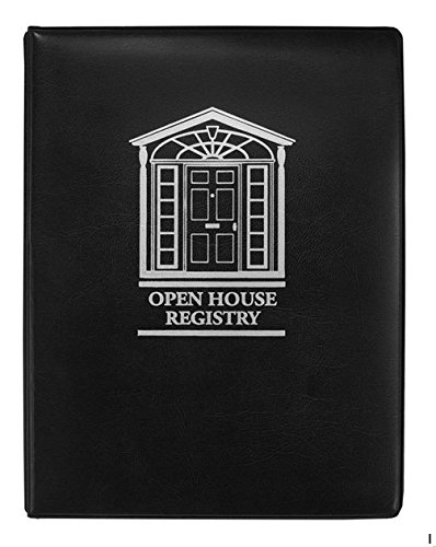 Open House Registry - Binder Format (Black)