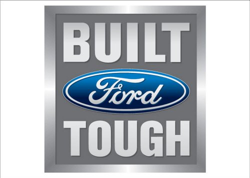 (NEOPlex Built Ford Tough Auto Logo Traditional Flag)