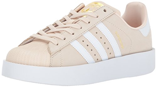 Sneaker Superstar W Bold Womens Superstar Da Donna Originale, In Tinta Unita, Oro