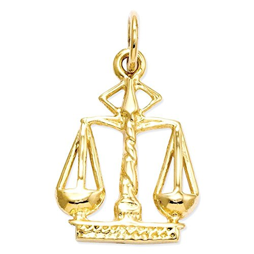 Scales 14k (Jewels By Lux 14k Scales Of Justice Charm)