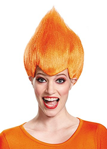 Halloween Adult Ideas (Troll Wig - #1 Quality Colorful Troll Costume Hair - 5 Colors Available - Cosplay Troll Wig (Orange))