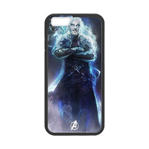 Avengers Age Of Ultron 028Black coque iPhone 6 Plus 5.5 Inch Housse téléphone Noir de couverture de cas coque EBDOBCKCO11932