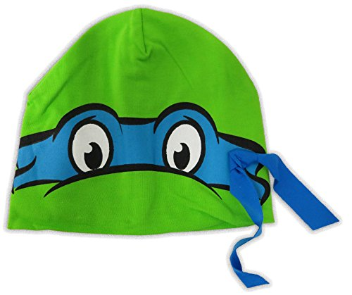 Ninja Turtle Baby Stuff (TMNT Teenage Mutant Ninja Turtles Leonardo Infant Hat ITE53052 One)