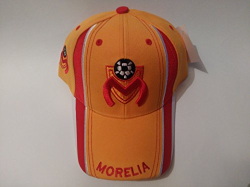 fan products of New! Morelia Monarcas Futbol Club 3D Embroidered Adjustable Velcro Back Cap Soccer Hat