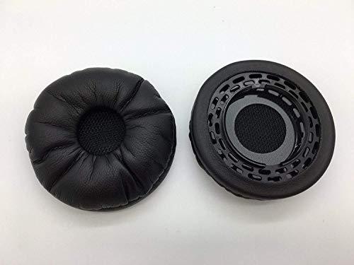 Cushion Replacement Ear 01 (80355-01 - Reki Audio Replacement Ear Pads Cushion Leatherette for Plantronics EncorePro HW710, HW720, HW291N & HW301N Headphones)