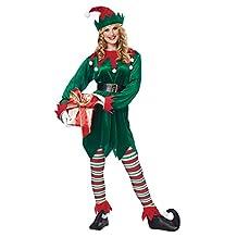 California Costumes Christmas Elf Adult