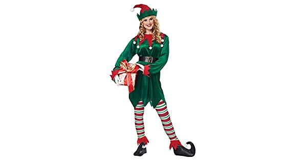 Amazon.com: California Costumes - Disfraz de elfo de Navidad ...