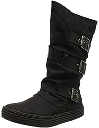 Blowfish Orlando - Black/Black (Synthetic) Womens Boots