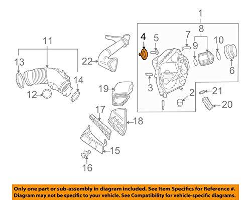 Audi A6 C6 C7 Q7 Air Box Filter Housing Mounting Peg Grommet New: