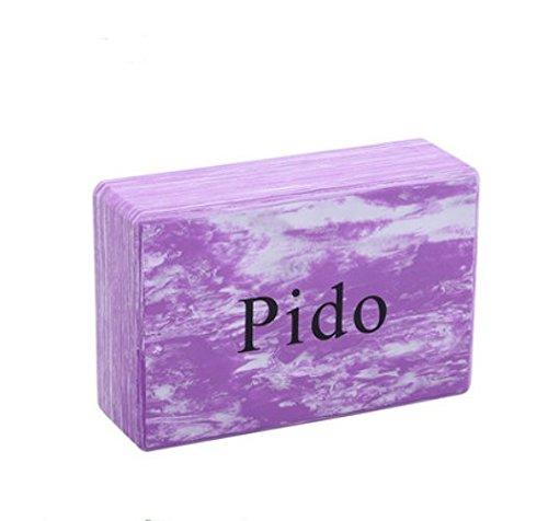 Environmental foam eva yoga brick fitness brick sports fitness auxiliary assembly foam brick (Camouflage purple)
