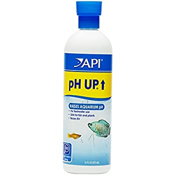 API pH UP Freshwater Aquarium Water pH Raising Solution 16-Ounce Bottle