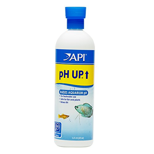 API pH UP Freshwater Aquarium Water pH Raising Solution 16-Ounce Bottle from API