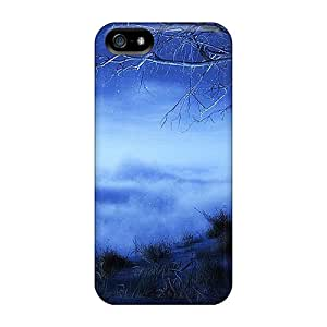 Fashion Protective Tree Above The Clouds Fantasy Case Cover For Iphone 5/5s