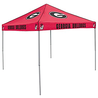 NCAA Georgia Bulldogs 9-Foot x 9-Foot Tailgating Canopy, Red