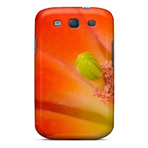 diy phone caseAGdDCYB4300TDBGJ Claret Cup Cactus Blossom Fashion Tpu S3 Case Cover For Galaxydiy phone case