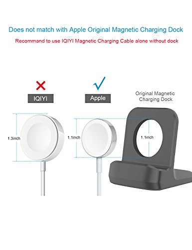 IQIYI Apple Watch Charger, Apple MFi Certified, 1.0ft(0.3M) Magnetic Charging Cable Cord for Apple Watch/iWatch Series 1/2/3 (38mm & 42mm) Portable Charger by IQIYI (Image #3)