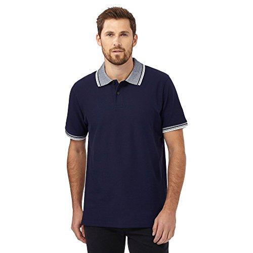 Maine New England Herren Poloshirt blau blau Einheitsgröße