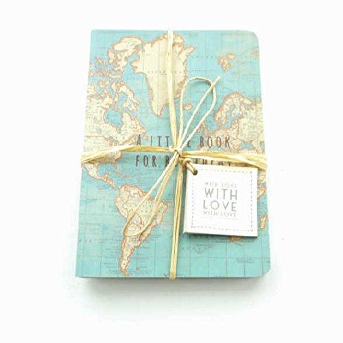 Sass /& Belle Vintage Map Big Ideas Notebook Multi-Colour