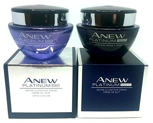 (AVON Anew Platinum : Day Cream + Night Cream SET !)
